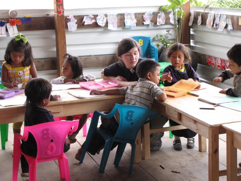 Preschool Workbooks in Guatemala