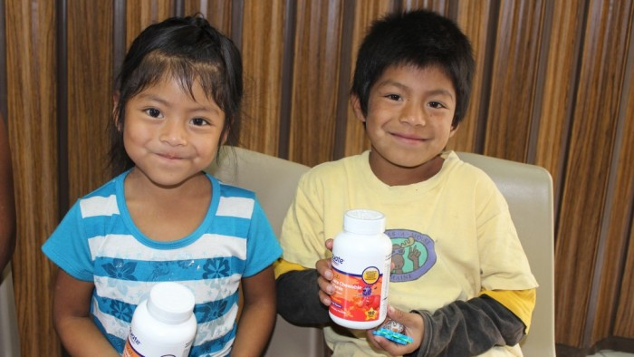 Vitamin Program in Guatemala